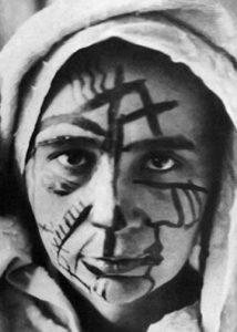 Natalia Gontcharova Face Paint Moscow