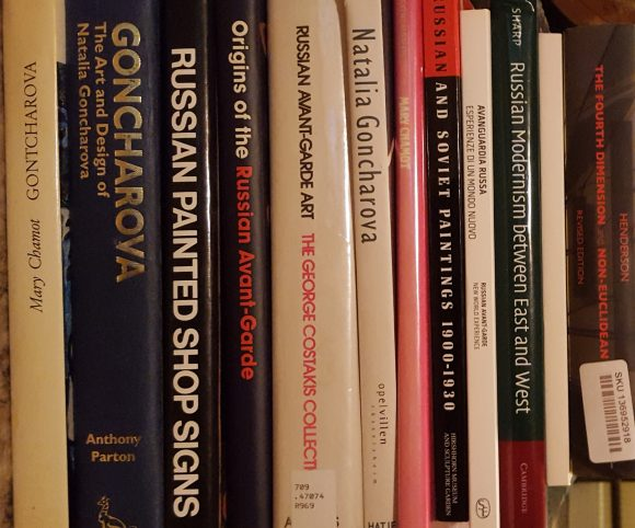 Natalia Gontcharova Research Library Books