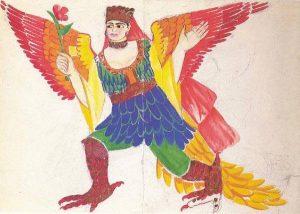 Natalia Gontcharova Bird siren