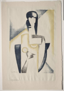 Natalia Gontcharova Female Half-Figure
