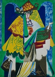 Natalia Gontcharova Orange Seller