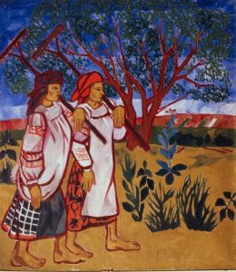 Natalia Gontcharova Women With Rakes