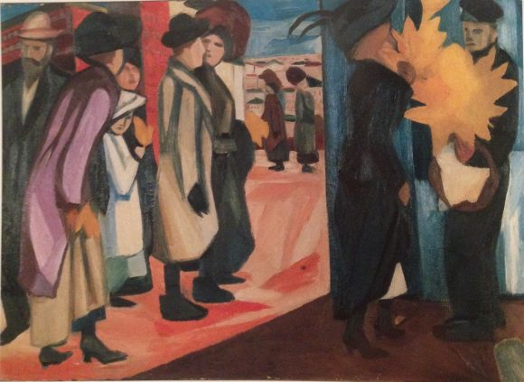 Natalia Gontcharova Spring In The City