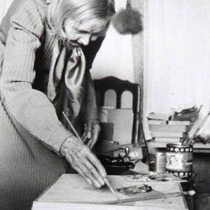 Natalia Gontcharova 1956Painting