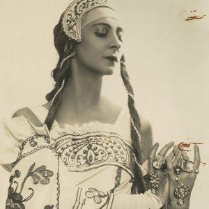 Natalia Gontcharova Costume Design