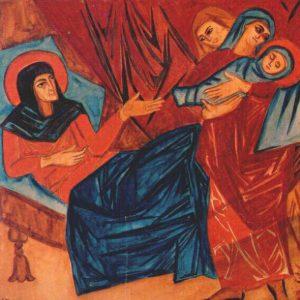 Natalia Gontcharova Nativity