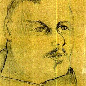 Natalia Gontcharova Portrait Larionov