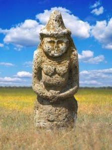 Scythian Stone Statue