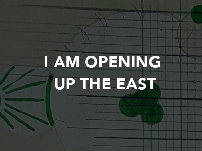 Natalia Gontcharova I am Opening up the East