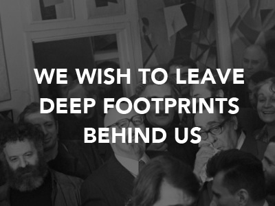 Natalia Gontcharova We Wish to Leave Deep Footprints Behind Us