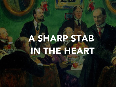 Natalia Gontcharova A Sharp Stab in the Heart