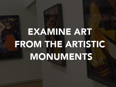 Natalia Gontcharova Examine Art from the Artistic Monuments
